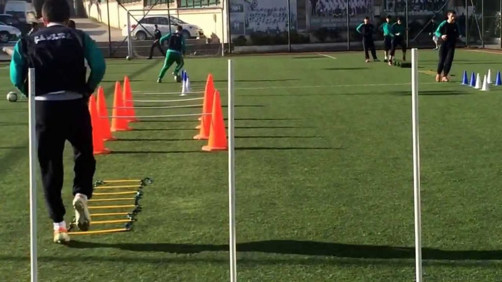 U-16 Training with Coach Emre Temizkan : Coordination and Agility Soccer Drill