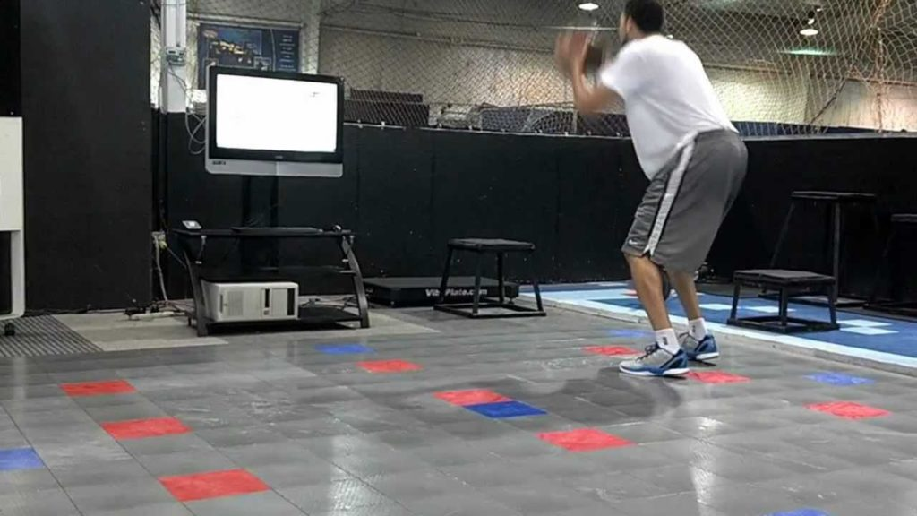 TRAINING AGILITY WHILE DRIBBLING A BASKETBALL