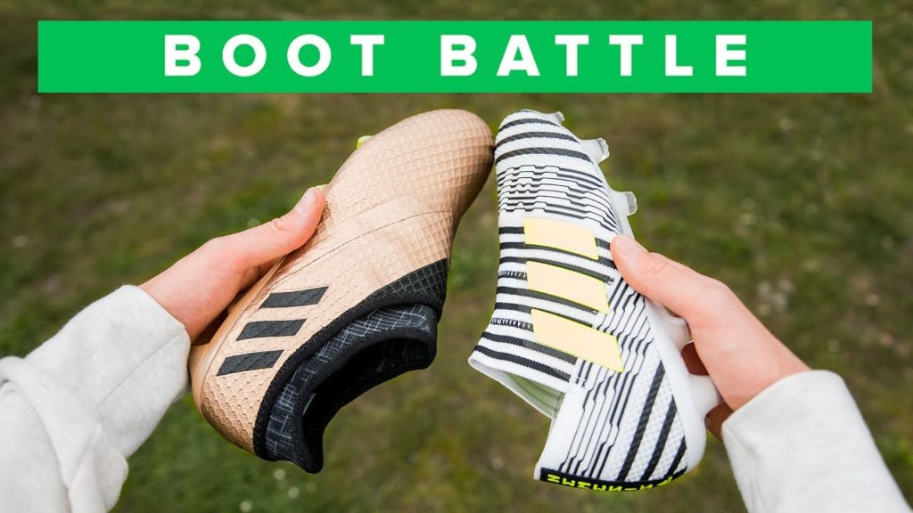Nemeziz 17+ Vs Messi 16+ | adidas agility football boot battle