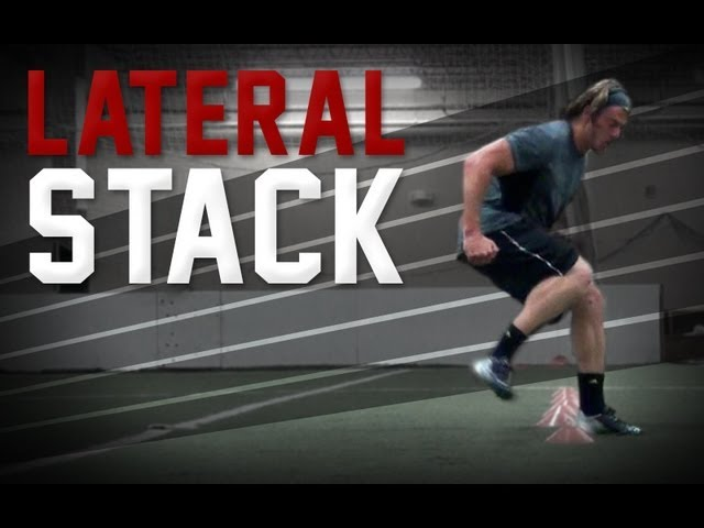 Kbands Defensive Lateral Stack | Football Agility Drills