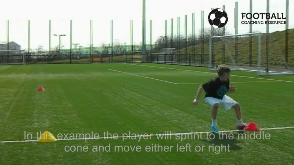 Football Coaching Resource – Conditioning – Agility – T-Test