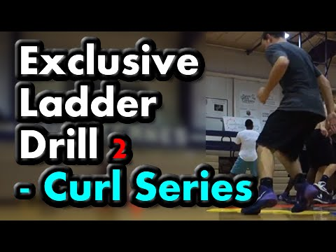 Agility Ladder Drills for Basketball (Curl Series) Drill 2 of 5 – (Footwork, speed, quickness)