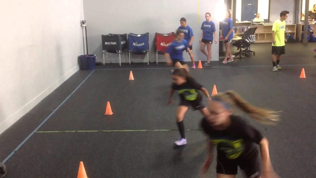 Zig Zag Agility Drill to Prevent ACL Injuries in Soccer Players