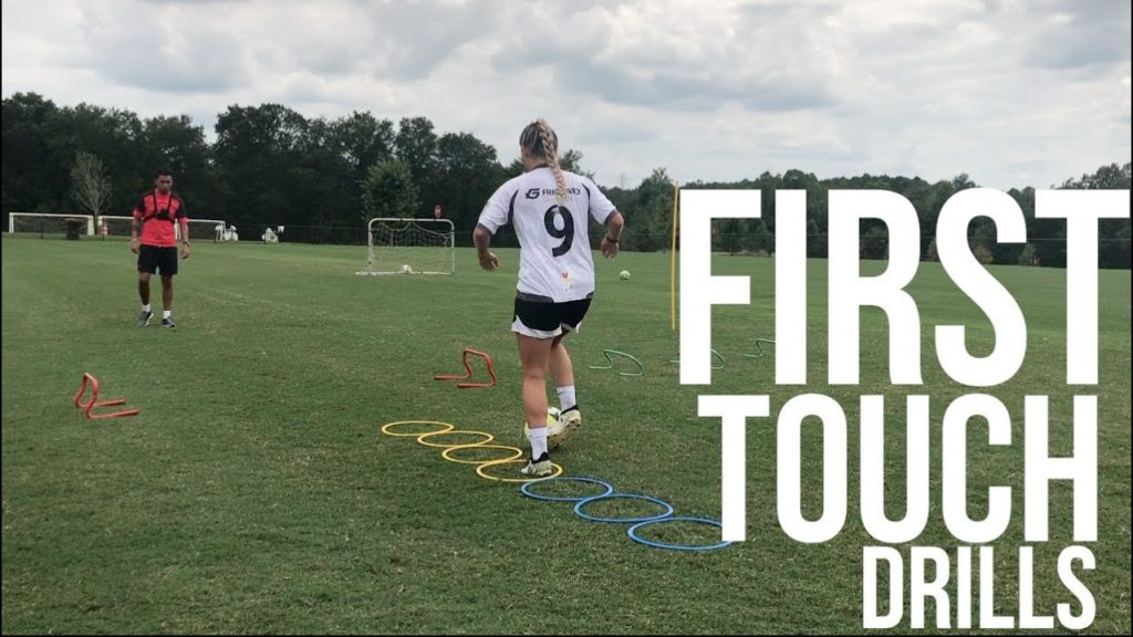 Soccer Drills To Improve – First Touch – Shooting – Speed And Agility