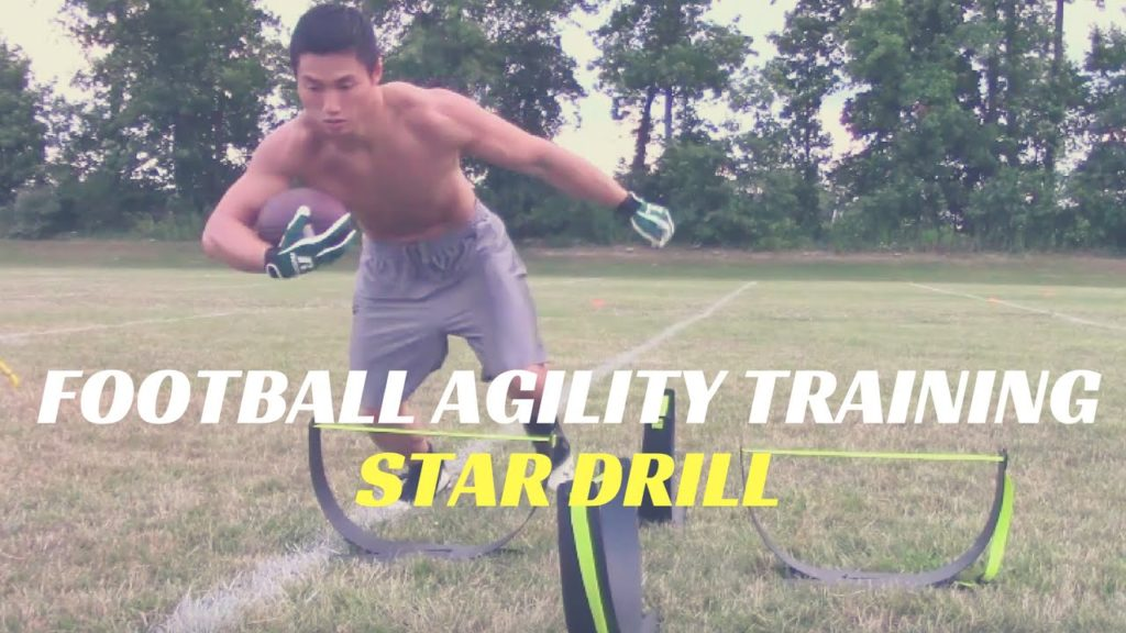 Football Agility Training:Star Drill