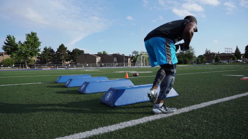 Agility Ladder and Hurdle Drills for Football
