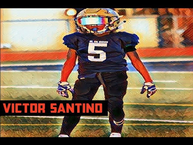 Victor Santino 10U RB | SPEED AGILITY DRILLS | Youth Baller | HighLights