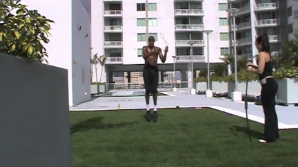 Dre Baldwin: Jumprope Combo + Squat Jumps Pt. 2 | Basketball Agility Training Vertical NBA Fit