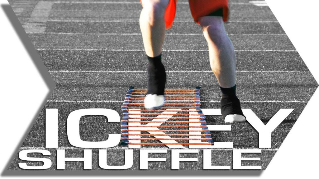 ICKEY SHUFFLE – AGILITY LADDER – FOOTWORK, QUICKNESS & SPEED TRAINING DRILL