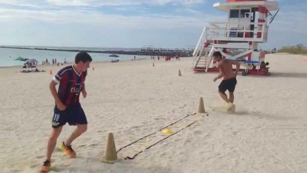 Soccer Fitness (Soccer Agility Drills) Preseason