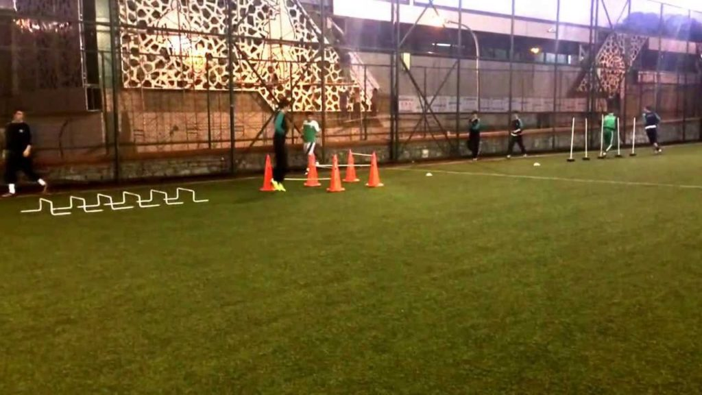 U-15 Training with Coach Emre Temizkan : Speed Agility Quickness Soccer Drill