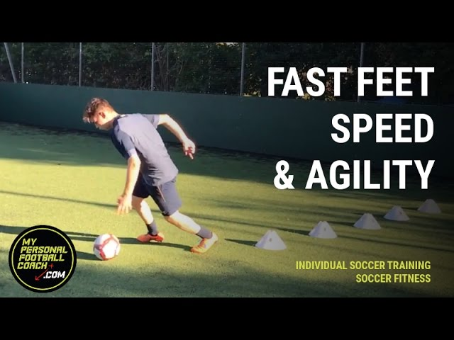 Individual Soccer Training – Fast Feet Speed Agility Combo