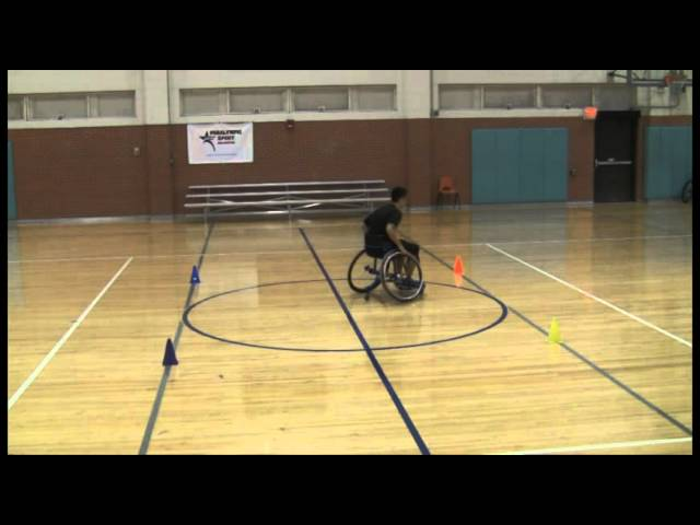 Wheelchair Basketball Speed and Agility Skills
