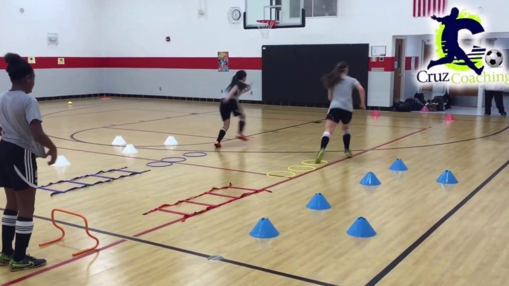 Speed, Agility & Quickness Drill For Soccer (SAQ)