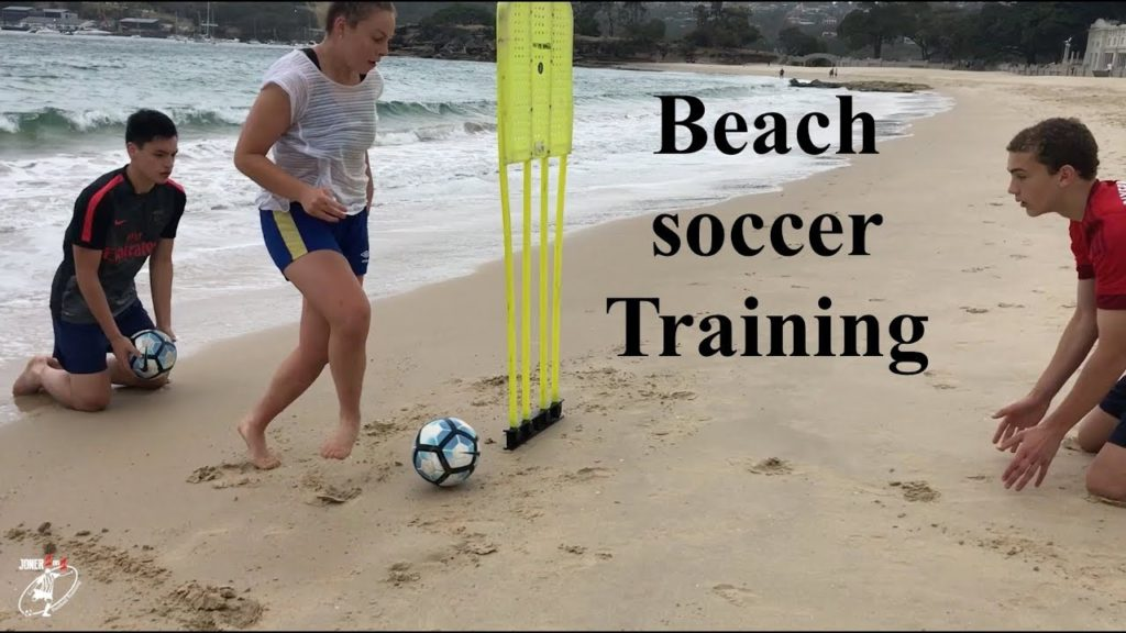Beach training drills | Soccer | Speed & Agility | Joner 1on1 Football