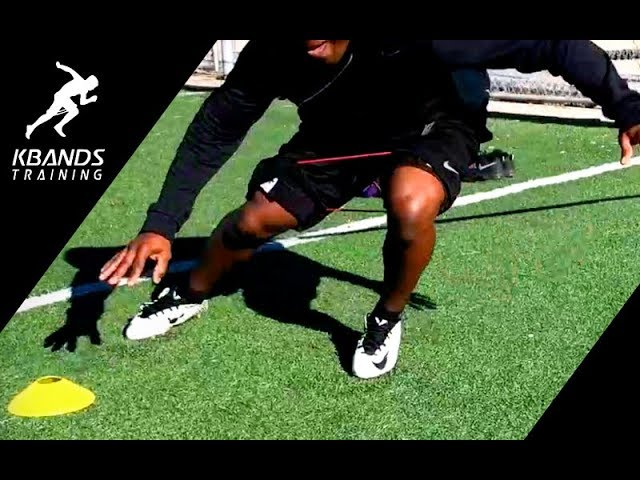 Football Speed Bands Plus Agility Exercises | Football Speed Training