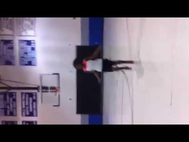Girls Basketball Agility Drills: Cone Hops/High Knees Jump Rope