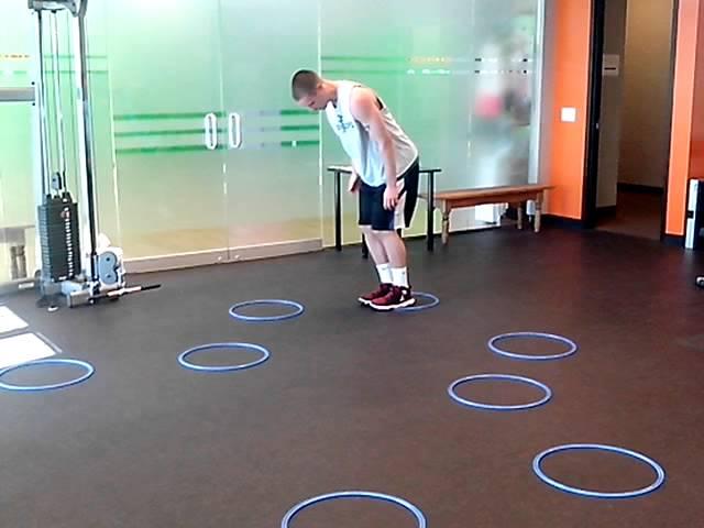 Basketball agility