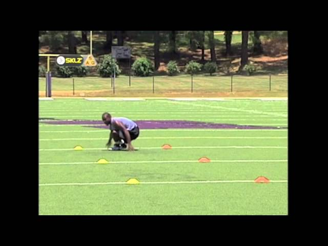 Pro Agility Drill or 5-10-5