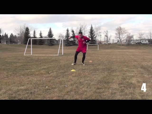 Soccer Fitness: Fast Footwork & Agility – Day 3 of 5 Soccer Training Program