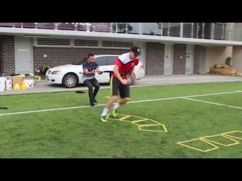 SKLZ Speed and Agility session with Joner 1on1 Football Training
