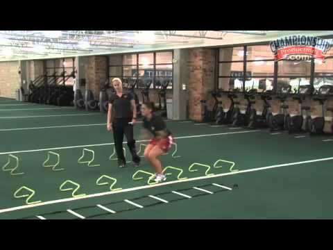 Speed, Agility and Quickness for Female Athletes with Andrea Hudy
