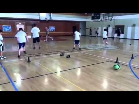 Best Basketball Skills & Drills – Agility Drills – Nike SPARQ Ladder Side Shuffles