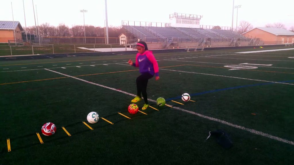 Agility Ladder Drills for Soccer- Fast Footwork to Improve Dribbling