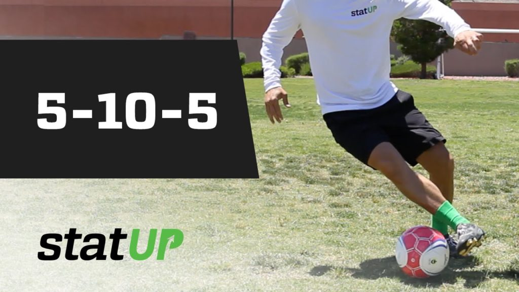 "Soccer Agility Drill – ""5-10-5"" – statUP Test"