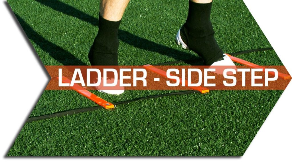 SIDE STEP – AGILITY LADDER –  FOOTWORK, QUICKNESS & SPEED TRAINING DRILL