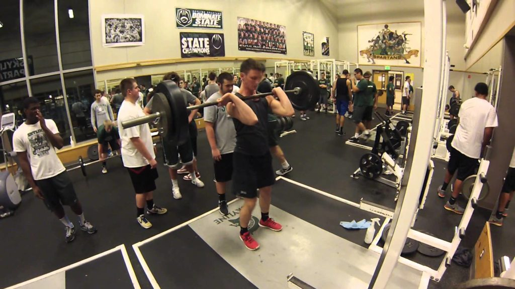 Agility and Weight Offseason Football  Training