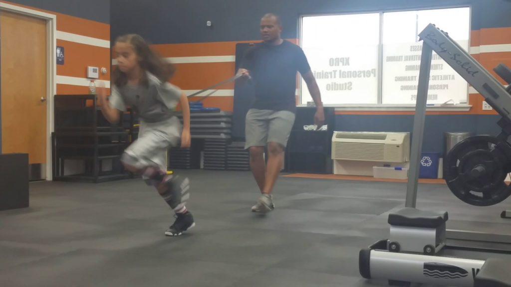 Mina Hashemzadeh c/o 2025 – Basketball agility training session XPro Training