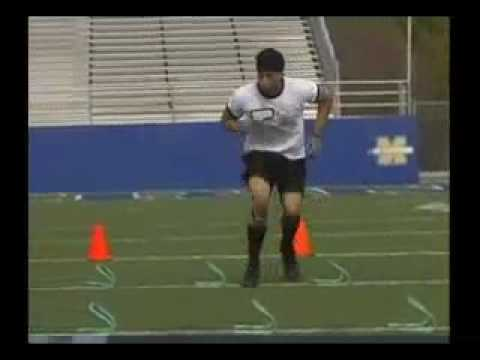 Learn Agility Training Drills for Football Speed.