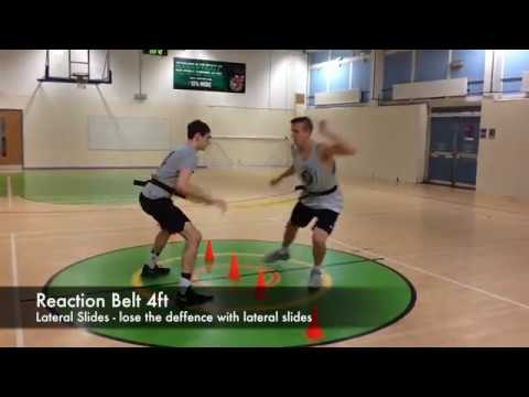 Basketball reaction and agility workouts