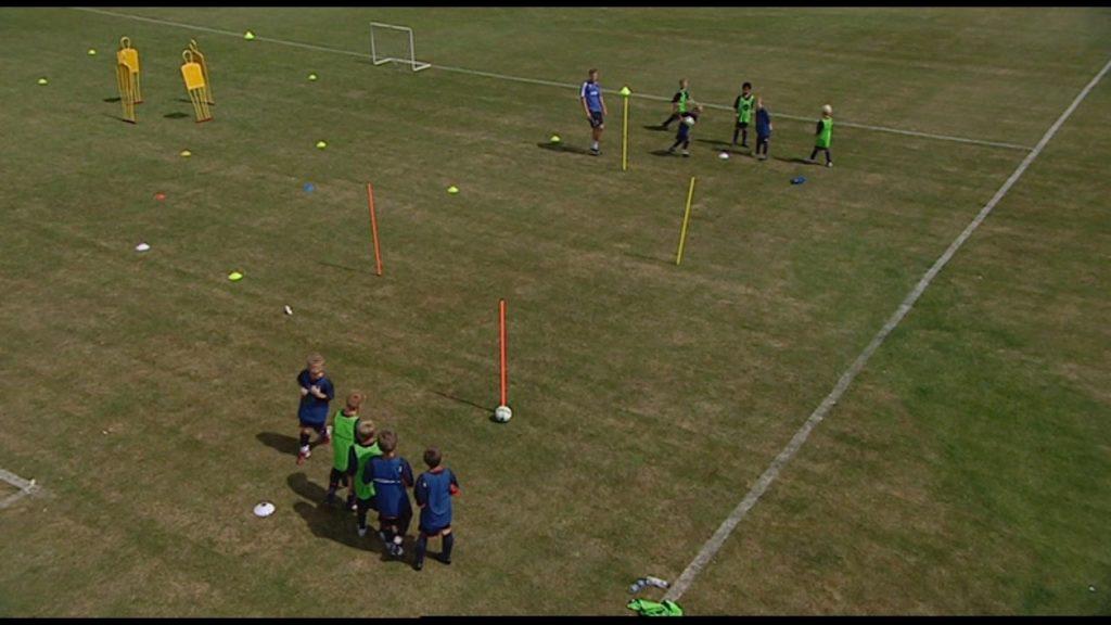 Soccer agility races – Matt Birnie: Chelsea FC Academy. – Part 2