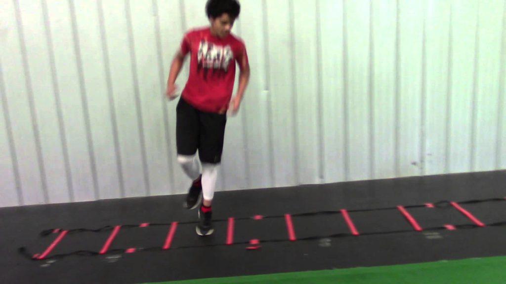 Myles White – Speed & Agility Workout – Baseball/Basketball