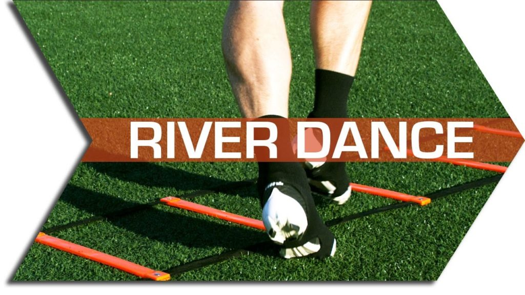 RIVER DANCE  – AGILITY LADDER DRILL – FOOTWORK, QUICKNESS & SPEED TRAINING DRILL