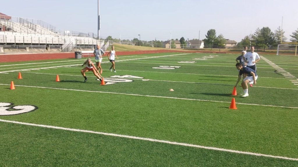 Soccer Group Speed/Agility Session