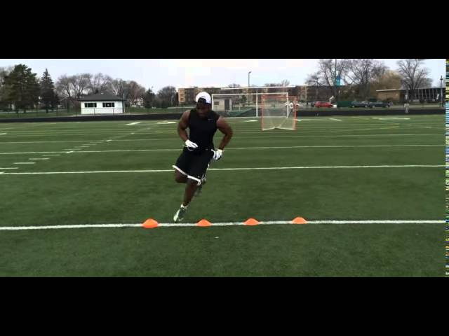 Best Agility Drill for Football! (SIMPLE AND EFFECTIVE)