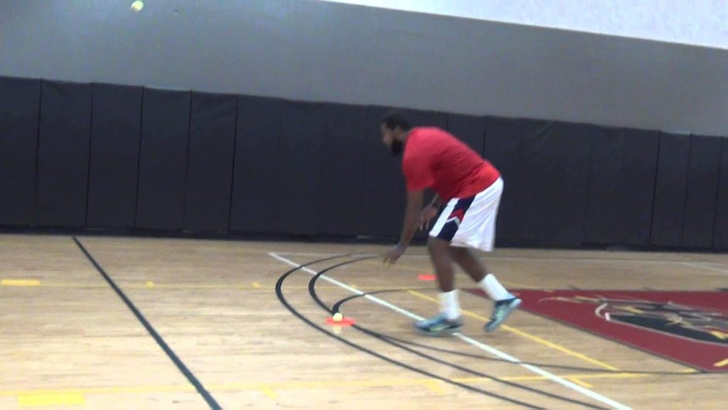 Coach Poe Training Basketball Tennis Ball Reaction Agility Drill