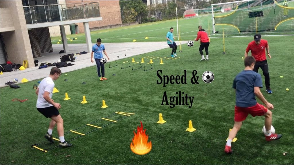 SPEED & AGILITY with two coaches – Joner 1on1