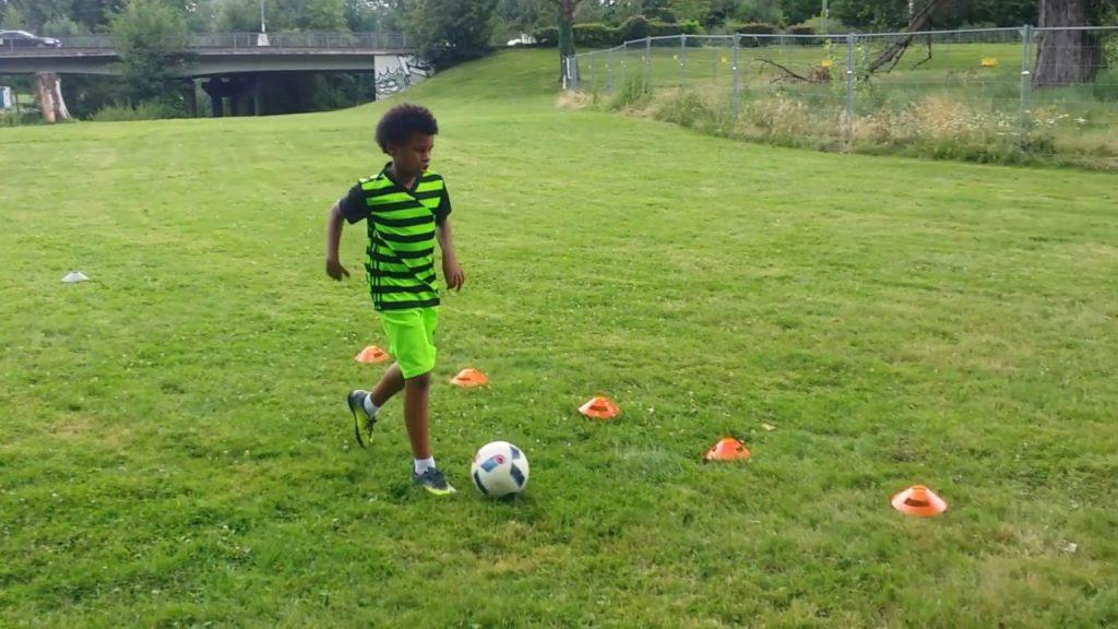 Preseason Training  2017 – Speed , Footwork, Agility : Juelz Romeo Glenn ( Soccer , Football )