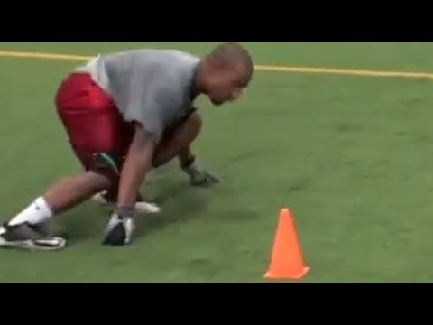 Football Drills | 3 Cone Drill | NFL Combine