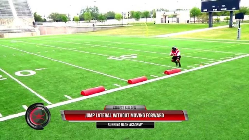Running Back Academy – Bag Agility – Jump Cut Drill