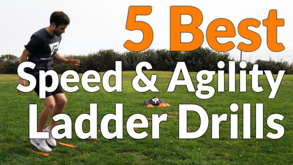 5 Best Speed & Agility Ladder Drills – Workouts for Soccer, Basketball, Football, Baseball