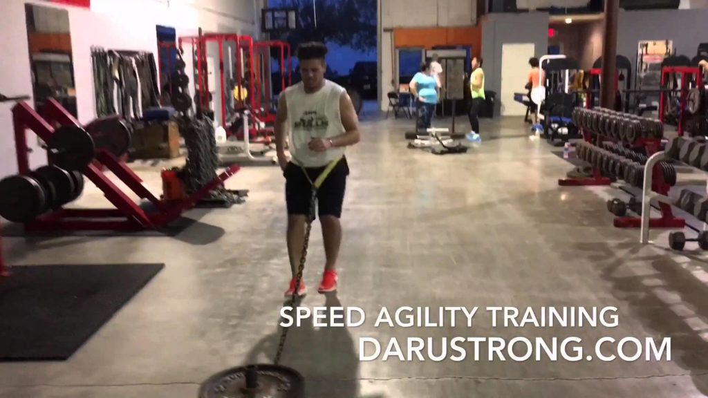 Football Speed & Agility Training: Daru Strong