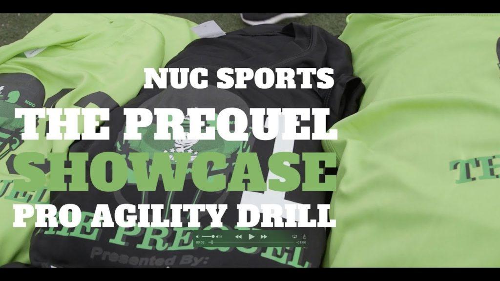 NUC Sports The Prequel Showcase Pro Agility Drill