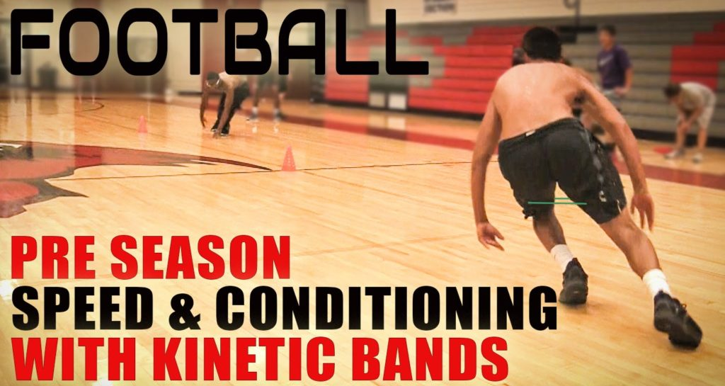Football Speed Agility and Conditioning with Kinetic Resistance Bands
