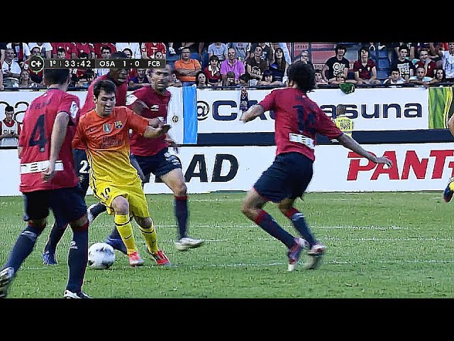 The Agility Of Lionel Messi ● Crazy Body Adjustement