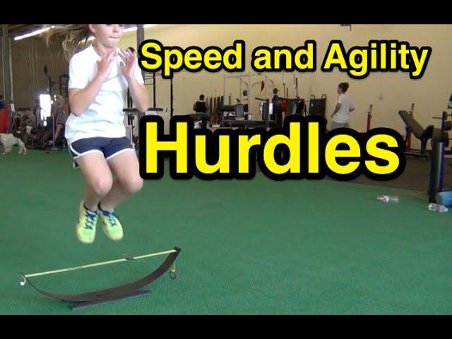 Speed and Agility Workout | Hurdles | Sam Gordon